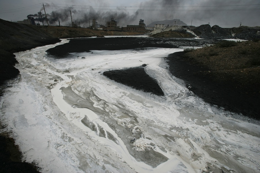 Pollution in China