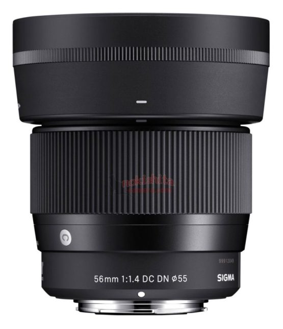 Sigma-56mm-f1.4-e-mount